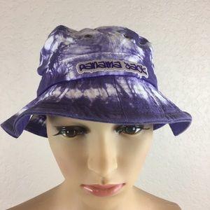 Panama Jack toddler purple tie dye hat